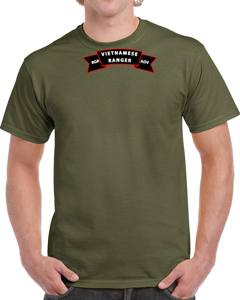 Sof - Ssi - Vietnamese Ranger Advisor Scroll X 300 T Shirt