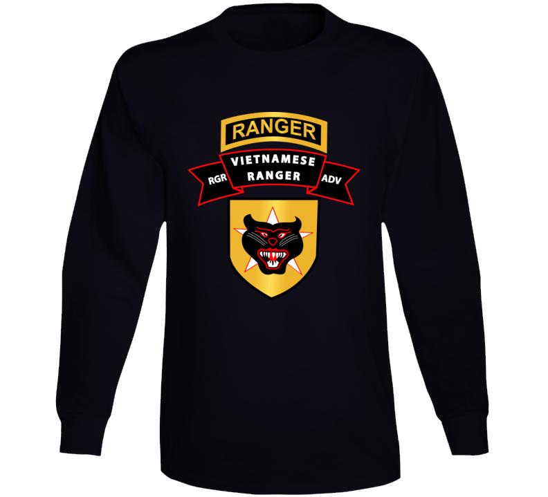 Sof - Ssi - Vietnamese Ranger Advisor X 300 Long Sleeve T Shirt