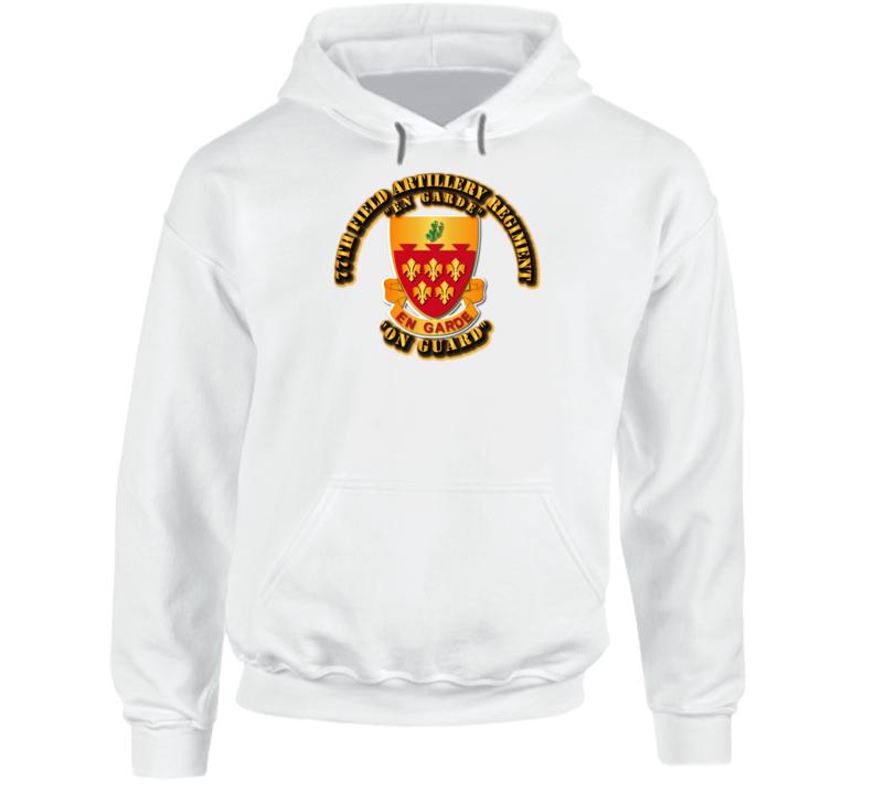 Army - 77th Field Artillery Regiment Hoodie