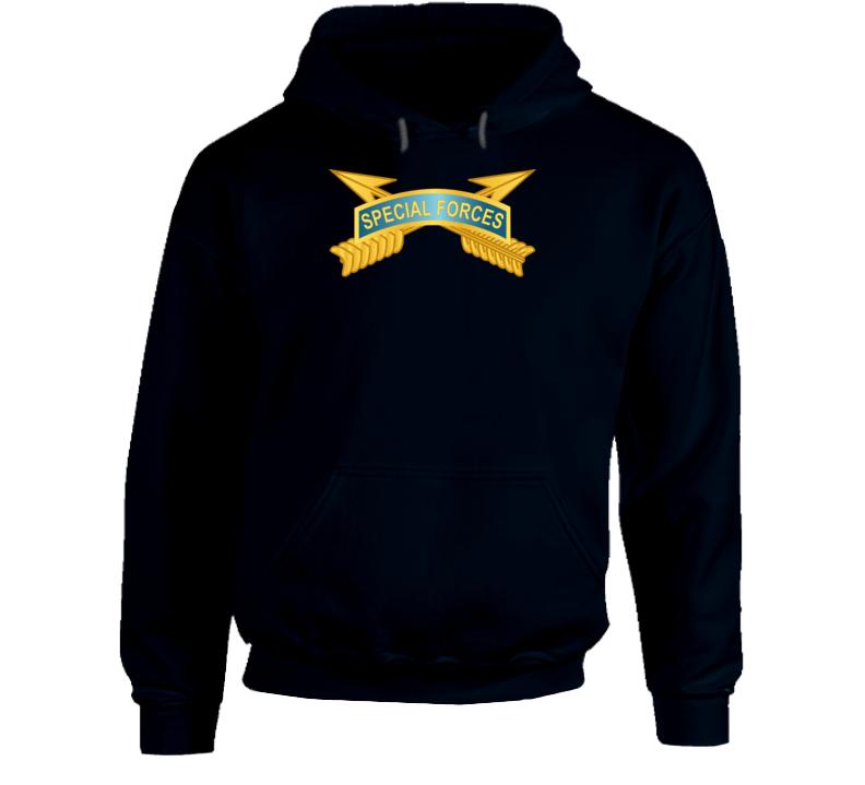 Army - Special Forces Tab W Sf Branch Wo Txt Hoodie