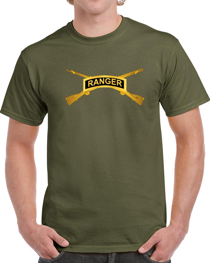 Army - Ranger Tab W  Infantry Branch Wo Txt T Shirt