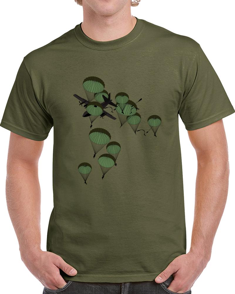 Army - Paratrooper - Mass Tac - 1 Ac - 2 Doors -  W Jumpers X 300 T Shirt