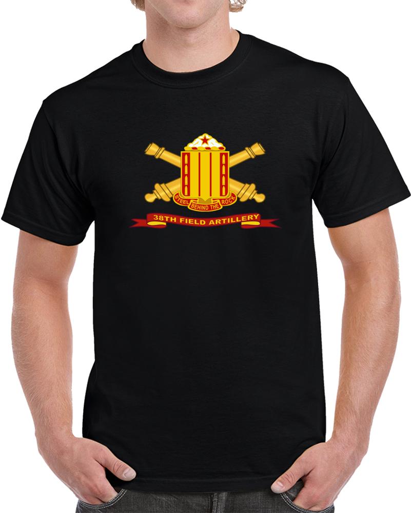 Army - 38th Field Artillery W Br - Ribbon T Shirt