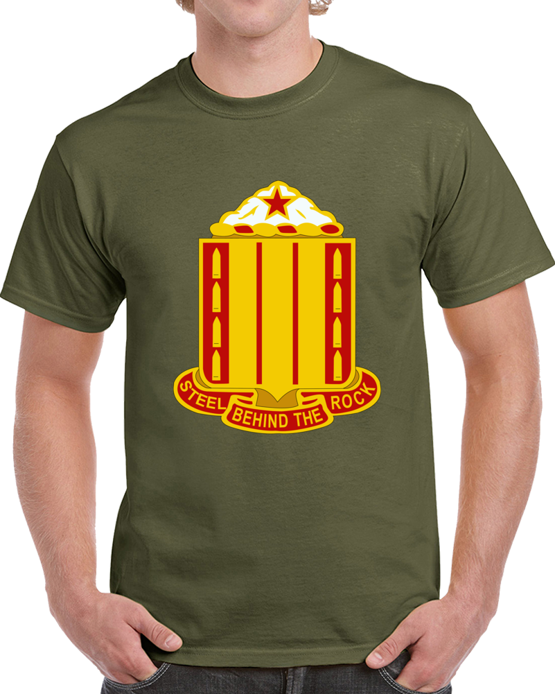 Army - 38th Field Artillery Regiment Wo Txt T Shirt