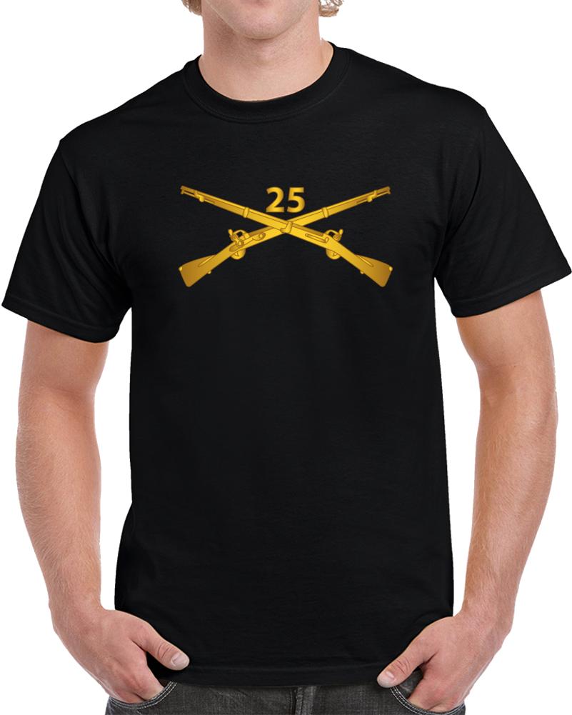 Army - 25th Infantry Regiment Branch Wo Txt T Shirt