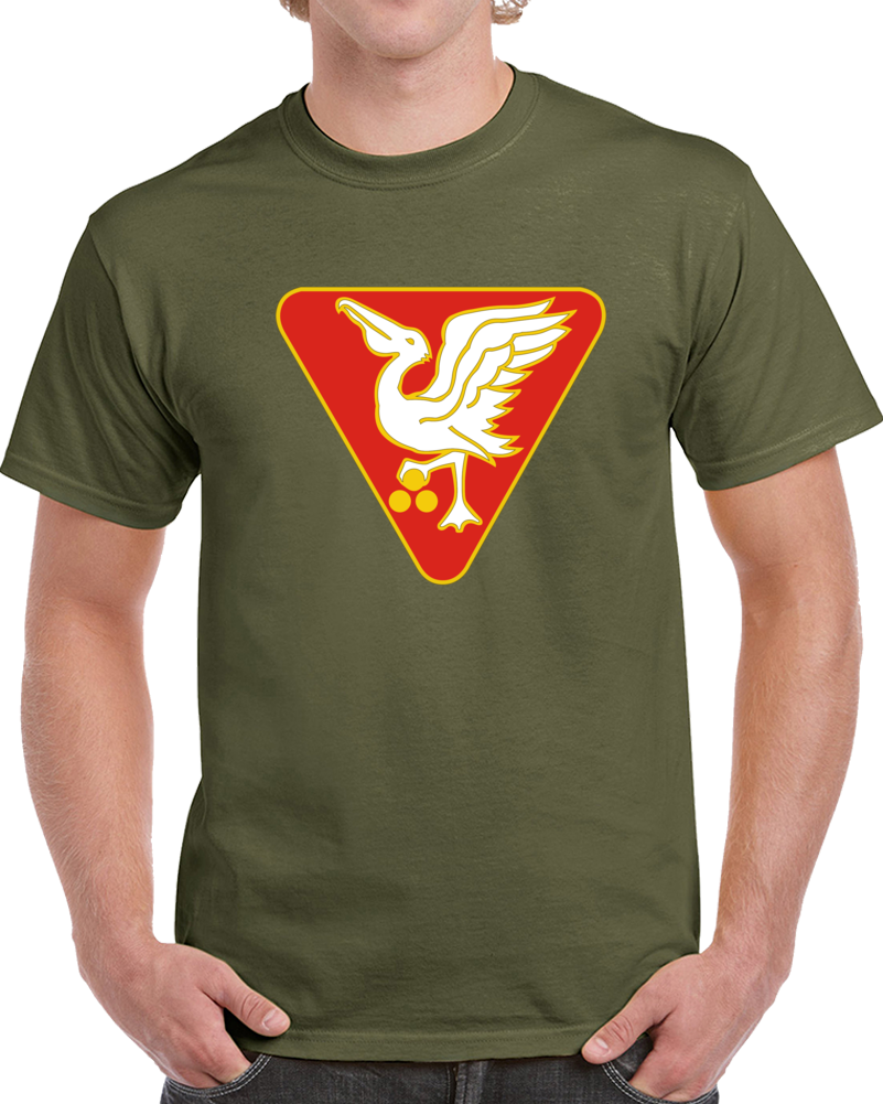 Army - 46th U.s. Army Artillery Group Wo Txt T Shirt