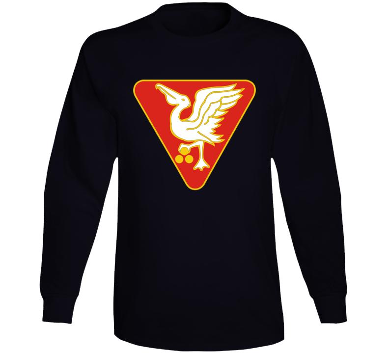 Army - 46th U.s. Army Artillery Group Wo Txt Long Sleeve T Shirt