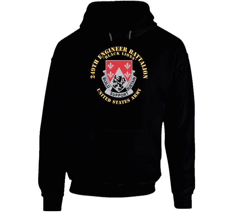 Army - Dui - 249th Engineer Battalion V1 Hoodie