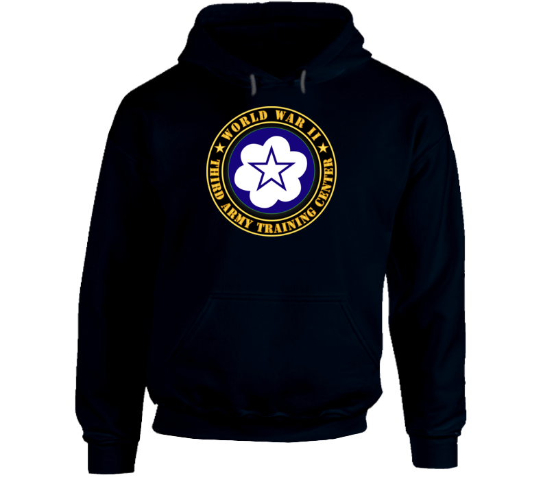 Army - Third Army Training Center - Wwii Hoodie