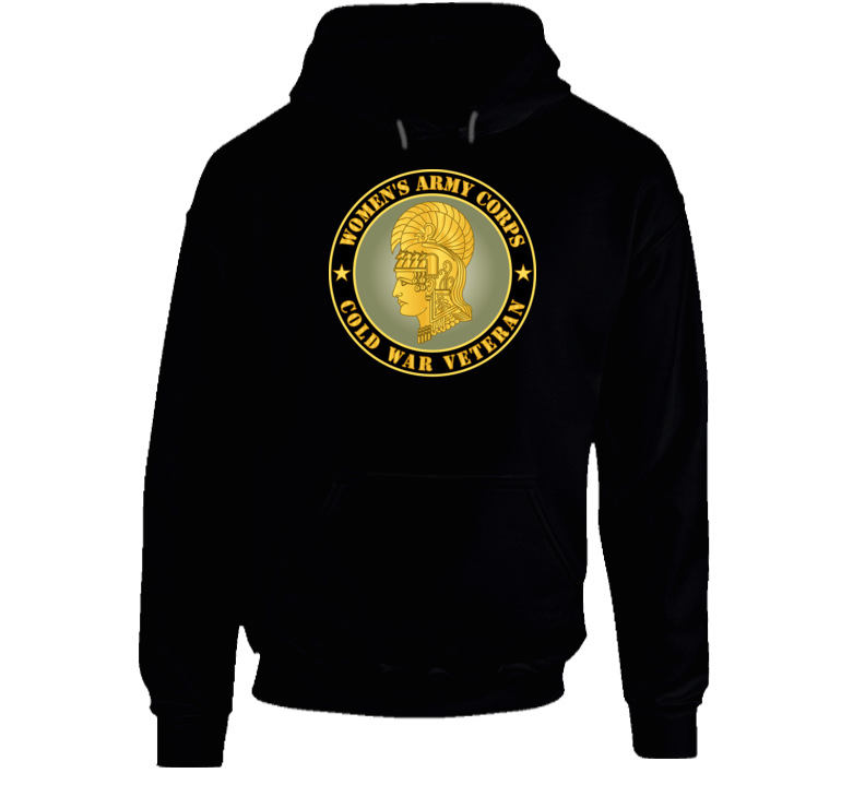 Army - Women's Army Corps - Cold War Veteran Hoodie