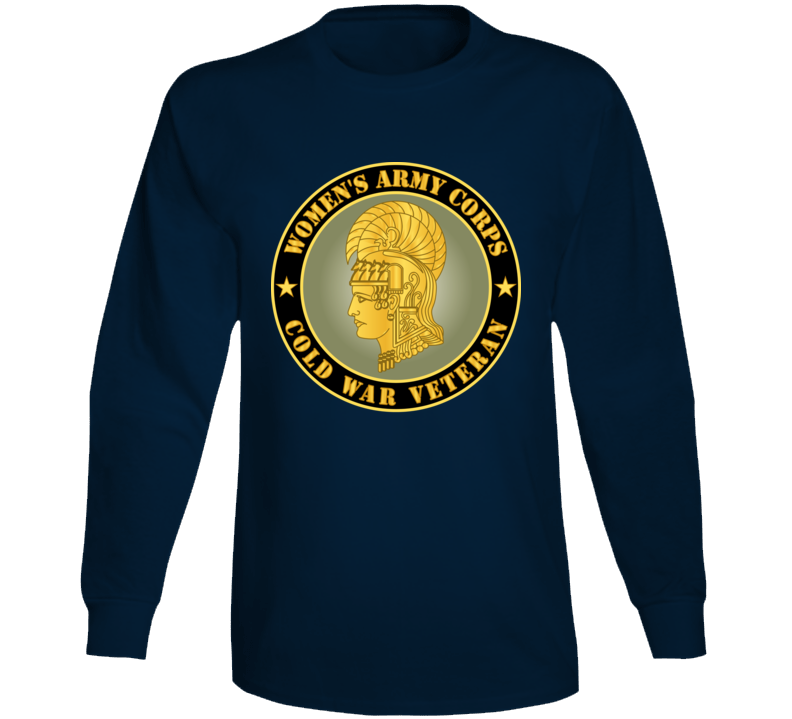 Army - Women's Army Corps - Cold War Veteran Long Sleeve T Shirt