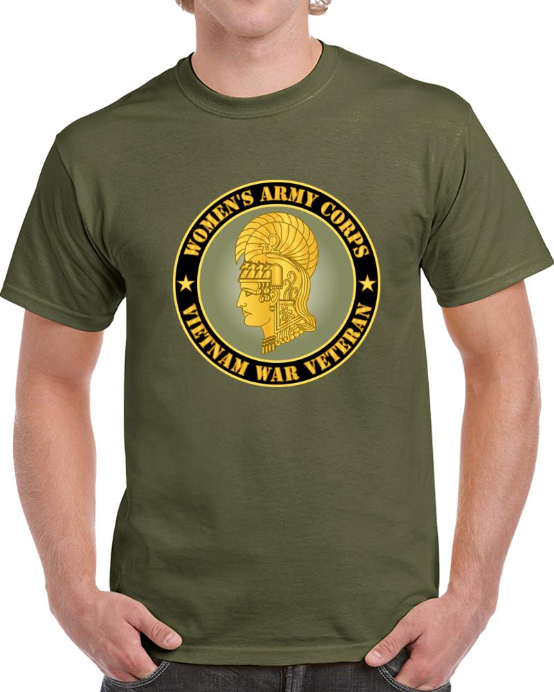 Army - Women's Army Corps - Vietnam War Veteran T Shirt