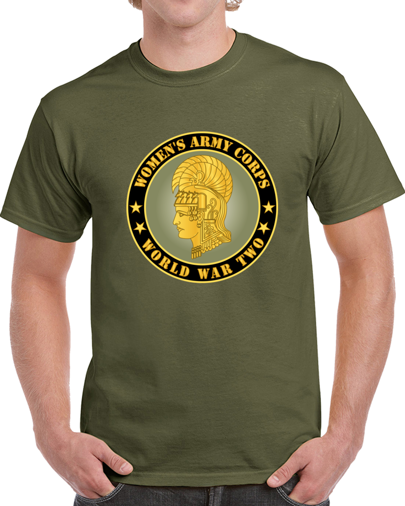 Army - Women's Army Corps - Wwii T Shirt