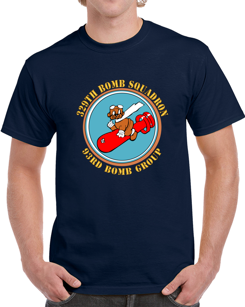 Aac - 329th Bomb Squadron,93rd Bomb Group - Wwii - Usaaf T Shirt