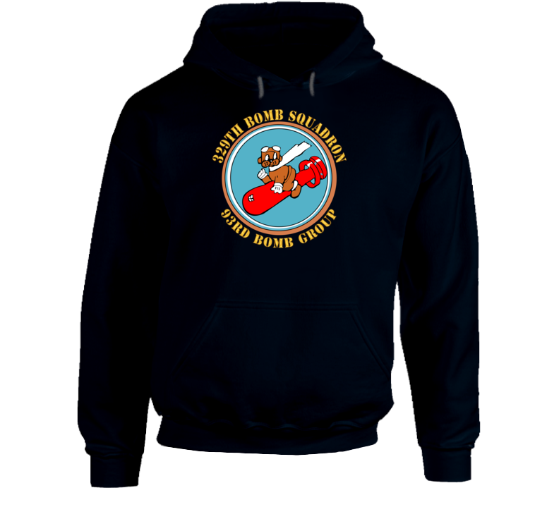 Aac - 329th Bomb Squadron,93rd Bomb Group - Wwii - Usaaf Hoodie
