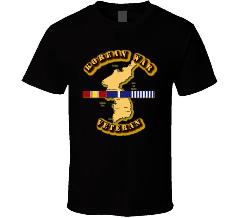 Army - Korean War Veteran T Shirt
