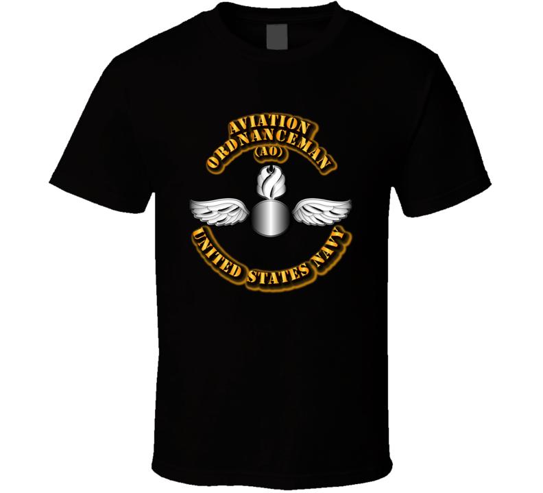 Navy - Rate - Aviation Ordnanceman T Shirt