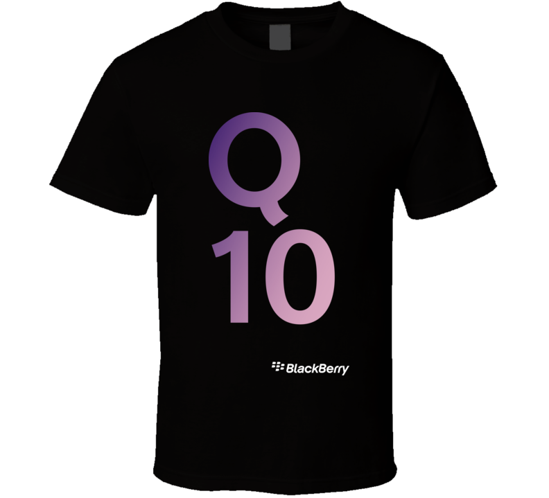 Q10 - BlackBerry T Shirt