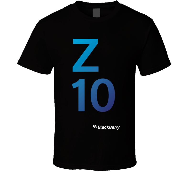 Z10 - BlackBerry T Shirt