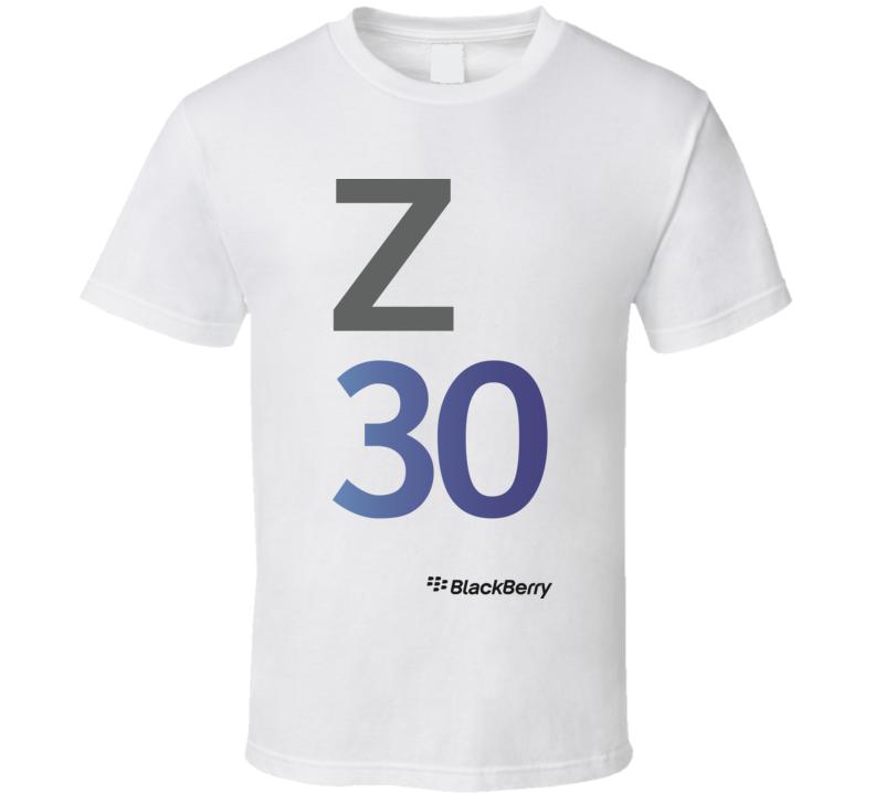 Z30 BlackBerry T Shirt