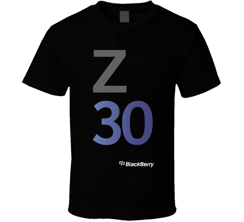 Z30 BlackBerry dark T Shirt