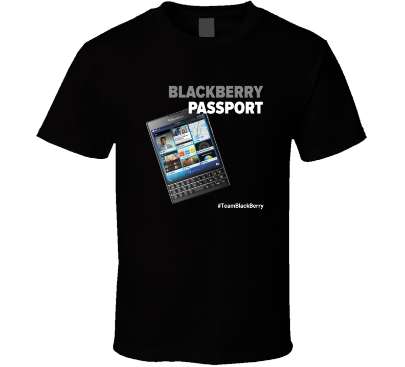 Passport Dark T Shirt