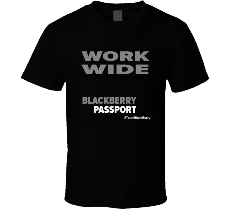 WorkWide Dark T Shirt