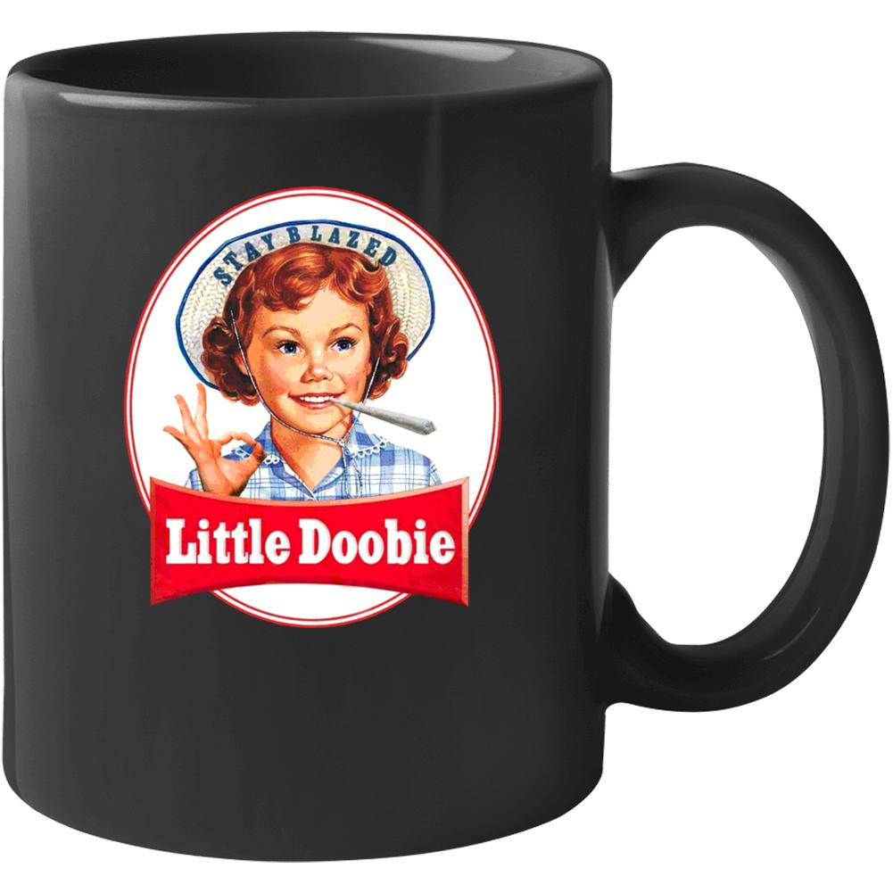 Little Doobie Lil Debbie Snak Cakes Parody Funny Stoner Weed Pot Kush Enthusiast Mug