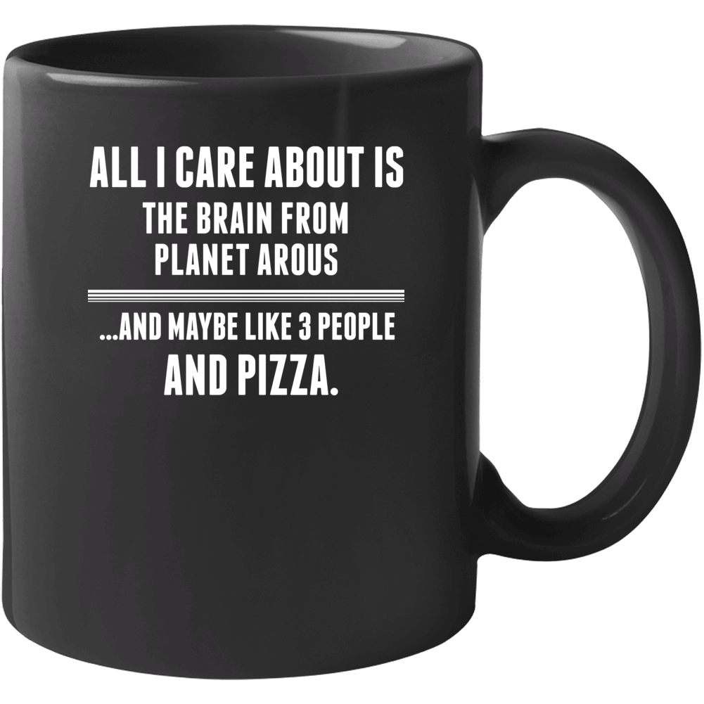 The Brain From Planet Arous Horror Film Mustache Mug