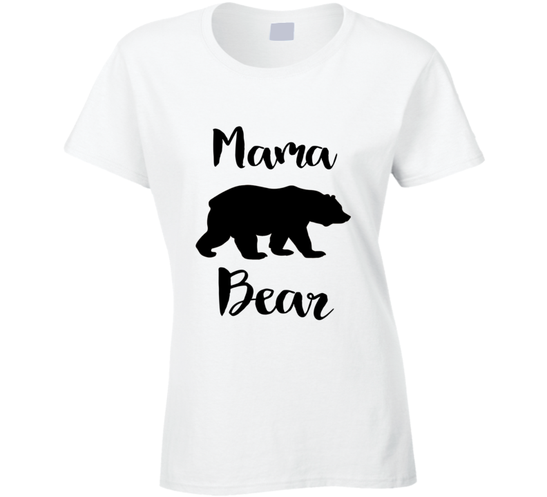 Mama Bear T-Shirt, Also Available as a V-Neck, Hoodie, Apron and More