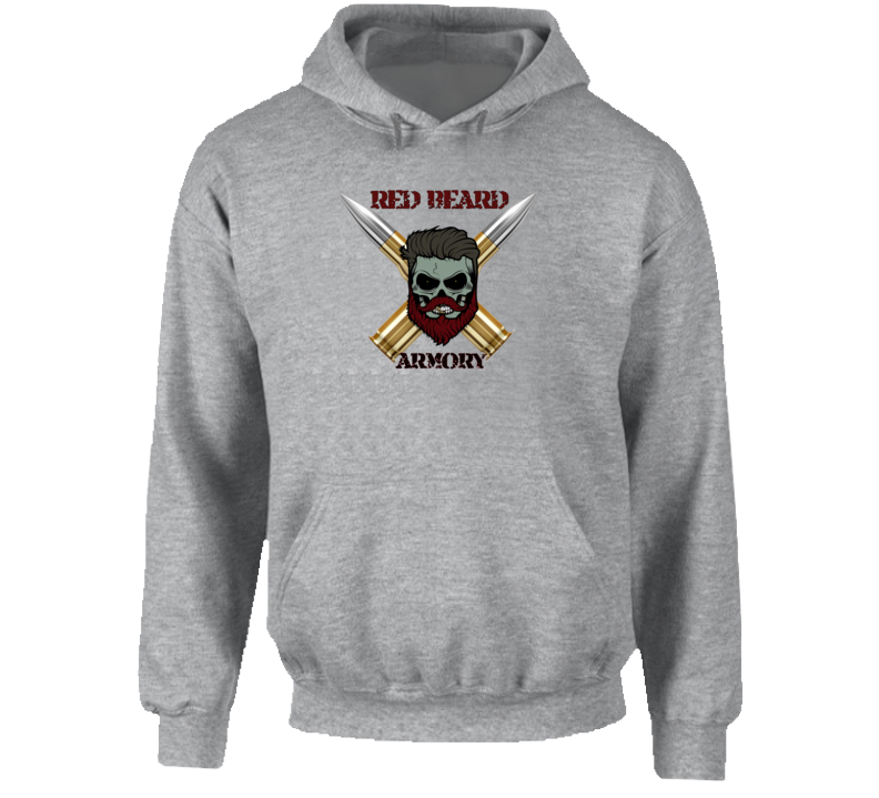 Red Beard Armory Hoodie, Hooded Sweatshirt