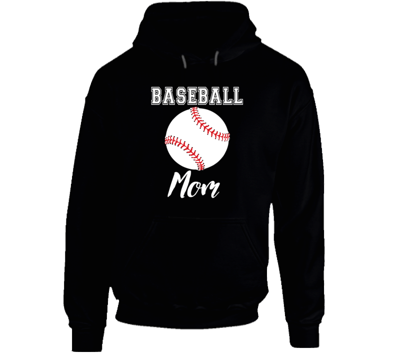 Baseball Mom Hoodie, Baseball Mom Sweatshirt, Baseball Mom Shirt,