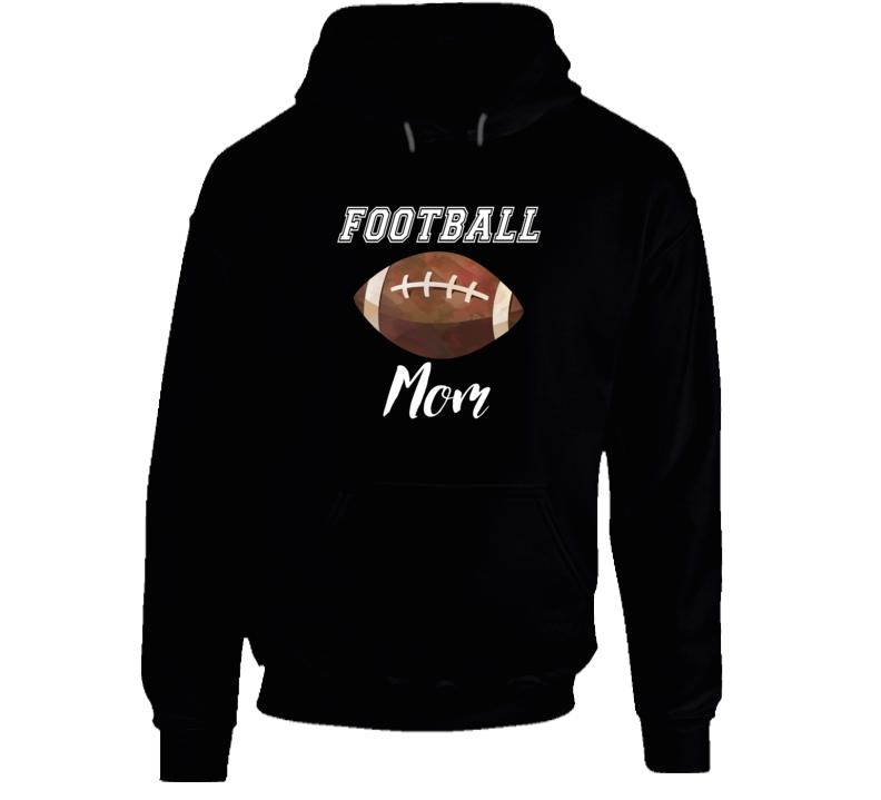 Football Mom Football Mom Hoodie Football Mom Hooded Sweatshirt