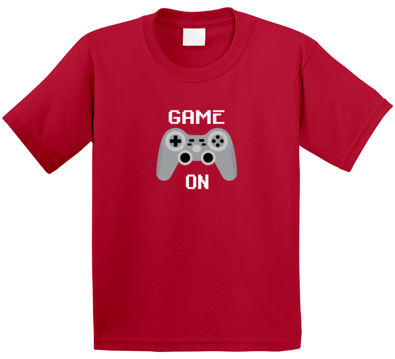 Game On Shirt, Game On Kids T-shirt, Game On Kids Shirt, Gamintg
