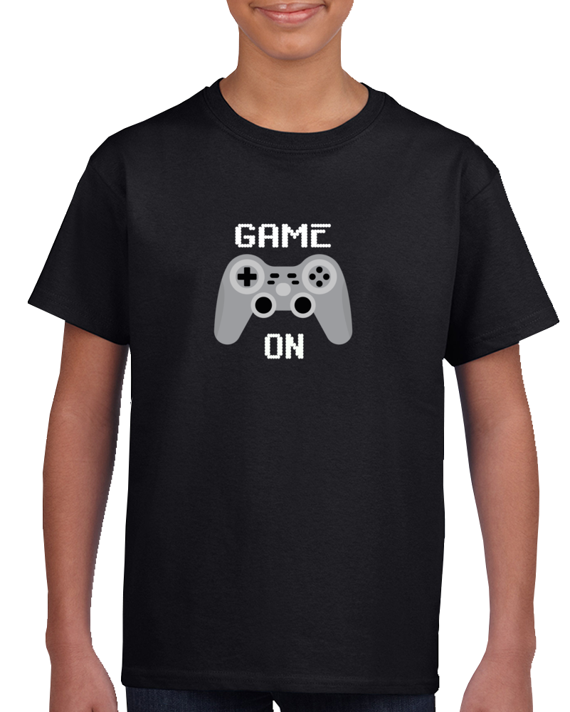 Game On, Game On Kids Shirt, Game On Shirt, Game On Kids T-shirt, Game On Kids Shirt, Game On Shirt, Game On Kids Tee, Game On T-shirt