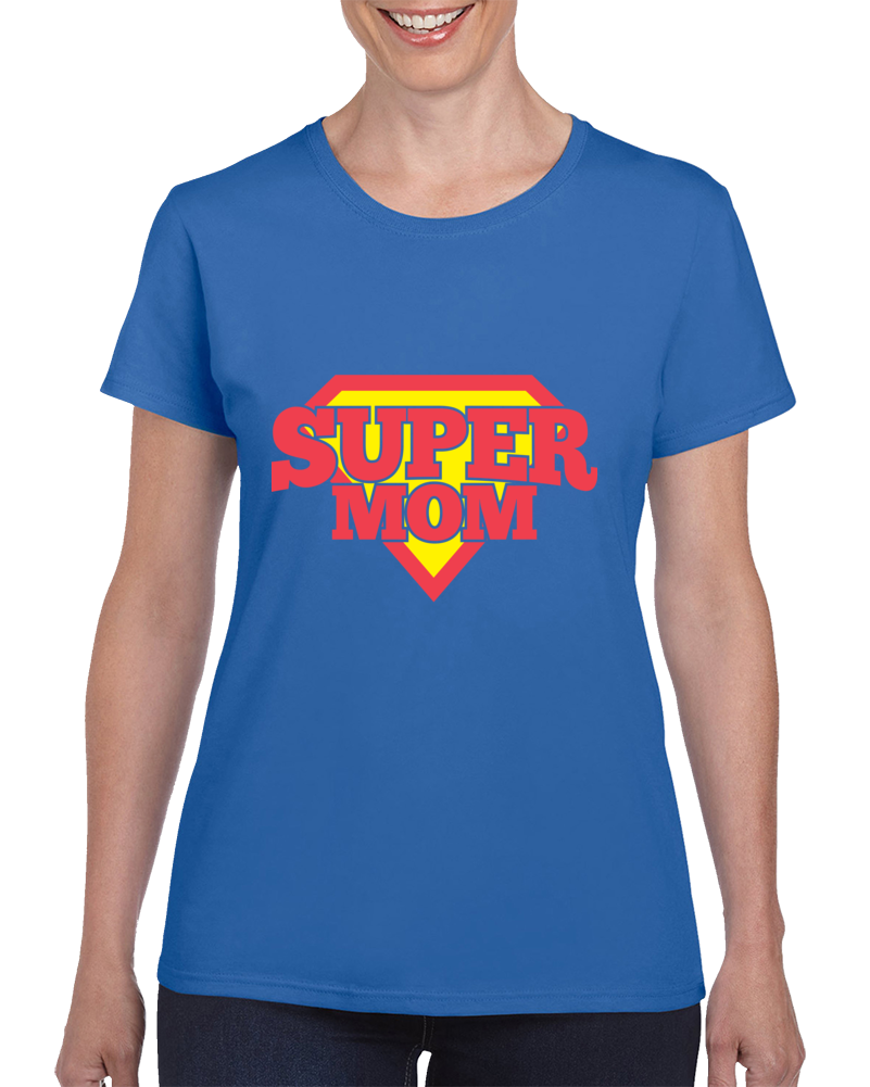 Super Mom, Super Mom Shirt, Super Mom Tee, Super Mom Tshirt, Super Mom T-shirt, Super Mom Tees, Shirts For Women