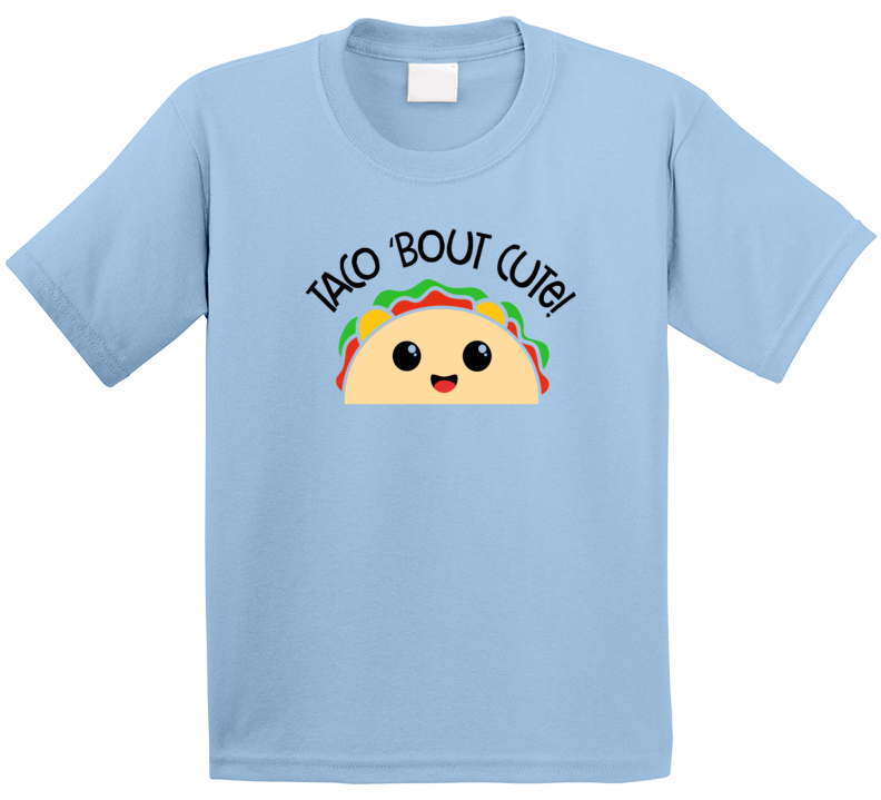 Taco Bout Cute Kids Shirt, Taco Bout Cute Shirt, Taco Bout Cute Kids Shirt