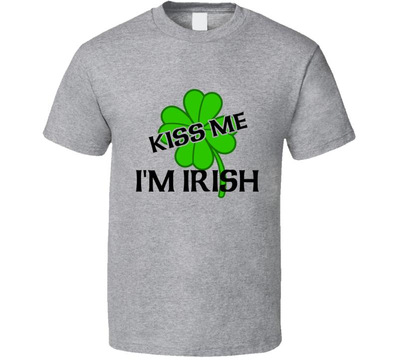 Kiss Me I'm Irish Tee Shirt, Kiss Me I'm Irish Tee, Kiss Me I'm Irish T-shirt