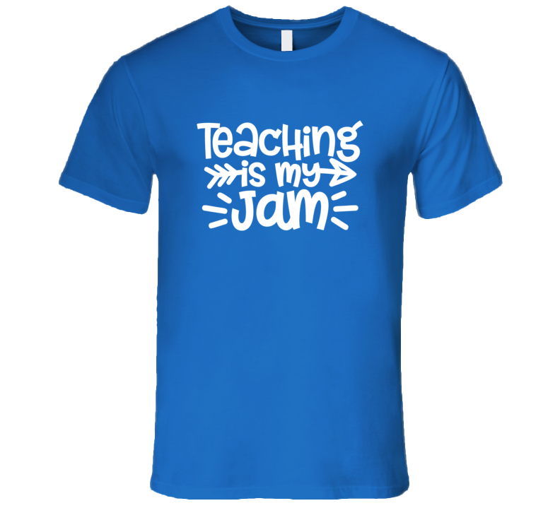 Teacher Gift Teaching Is My Jam Shirt, Teaching Is My Jam Tshirt, Teachingis My Jam T Shirt