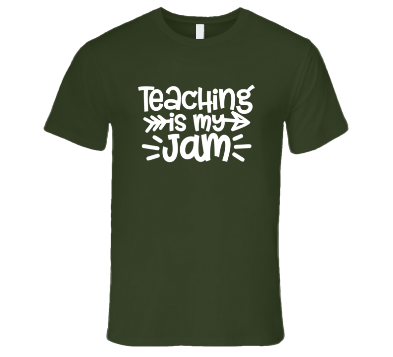 Teacher Gift Teaching Is My Jam Shirt, Teaching Is My Jam Tshirt, Teachingis My Jam T Shirt