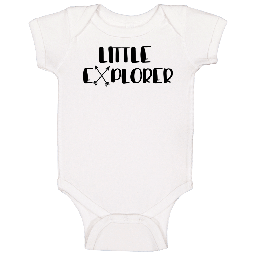 Little Explorer Onesie, Little Explore Baby Shirt, Little Explorer Bodysuit Baby One Piece