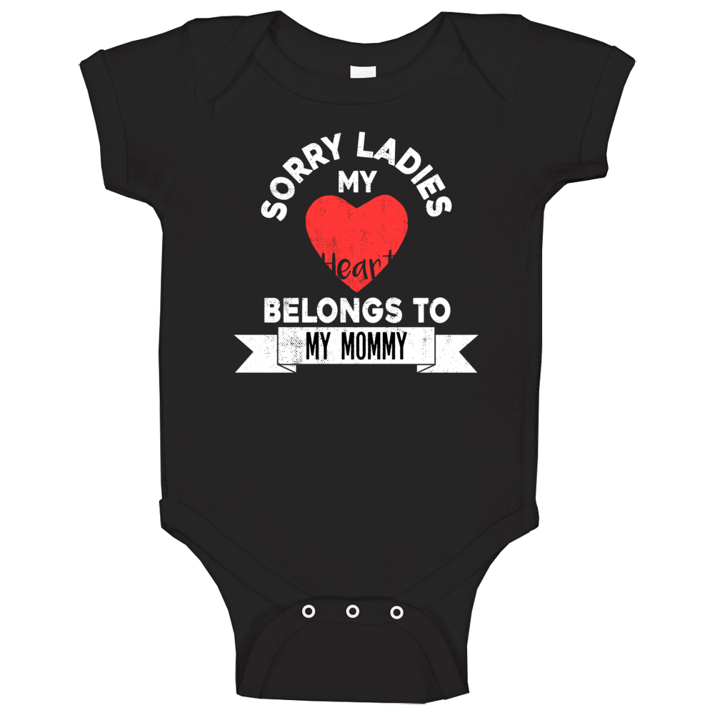 My First Valentines Day, First Valentines Day; Valentines Baby Onesie® -mommy Is My Valentine- ; Baby Valentines Day Outfit; Valentine Onesie; Mommys Valentin Baby One Piece