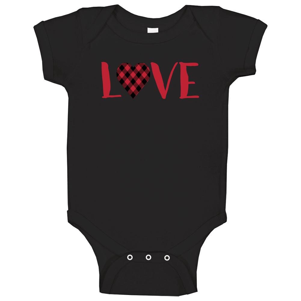 Baby Onesie, Heart Onesie, Valentine's Onesie, 1st Valentines, Baby Girl Baby One Piece