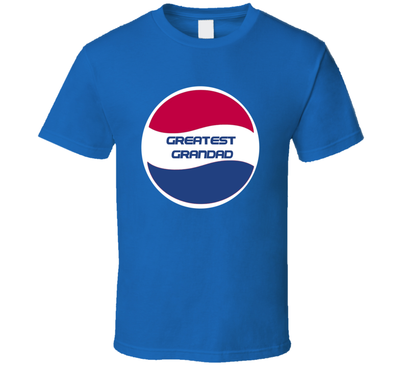 Greatest Grandad Pepsi Logo T Shirt