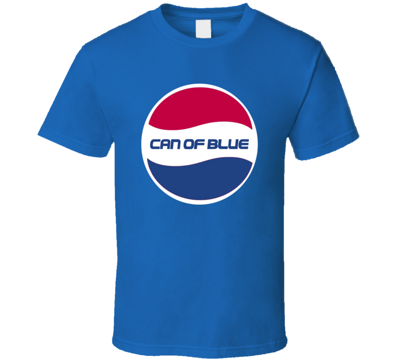 Can Of Blue Pepsi T Shirt