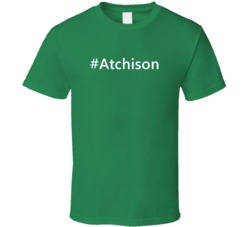 Hashtag Atchison Trending Essential Last Name Gift T Shirt