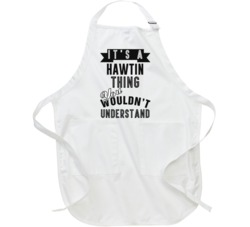 Its A Hawtin Thing Essential Personalized Name Apron
