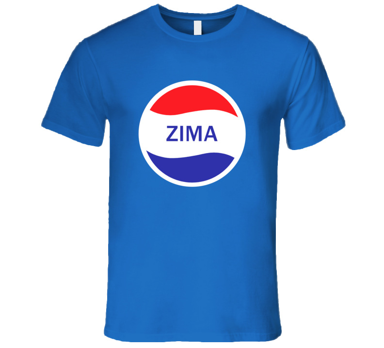 Zima Popular Drink Logo Parody Name T Shirt
