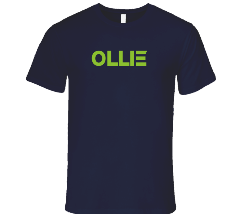 Ollie Popular Robot Inspired First Name T Shirt