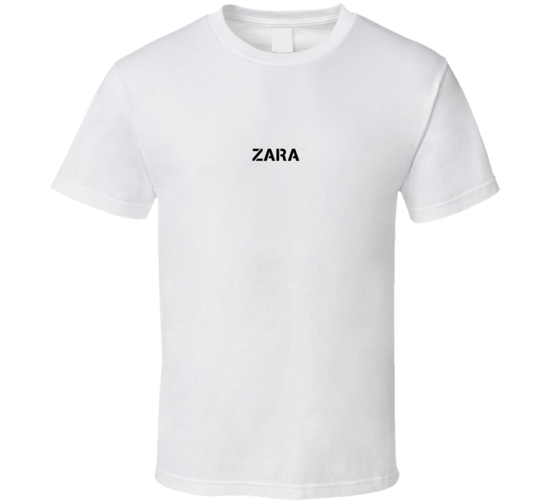 Zara American Sniper Inspired Army Name T Shirt